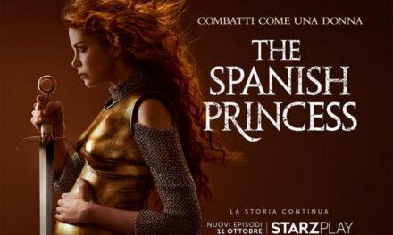 The Spanish Princess – la seconda parte in arrivo su Starzplay
